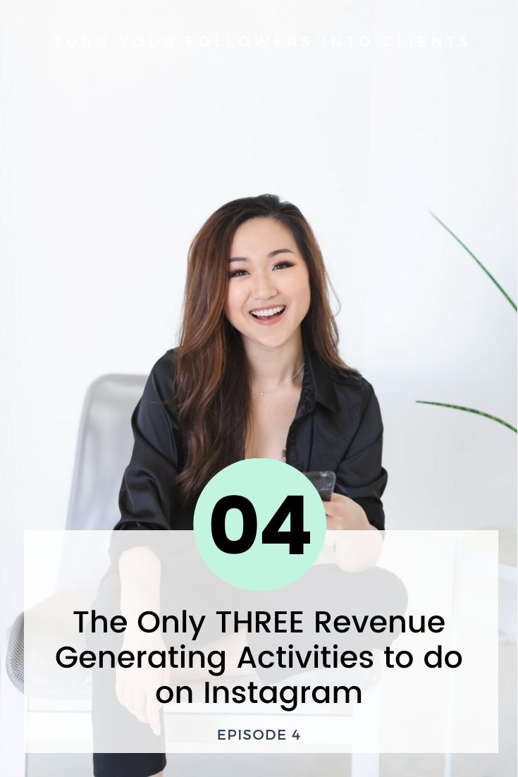 The ONLY 3 Revenue Generating Activities on Instagram