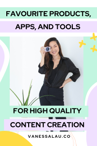 FAVOURITE Products, Apps, and Tools for HIGH QUALITY Content Creation